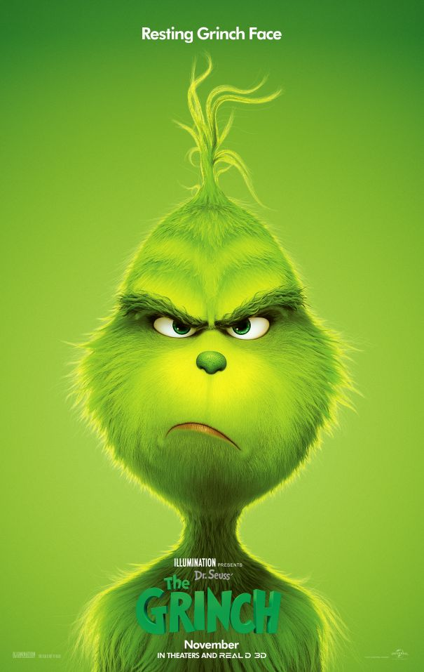 'Dr Seuss' The Grinch'