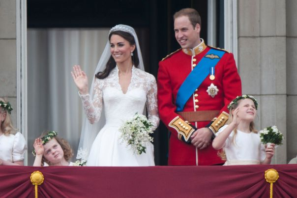 April 2011: Prince William And Kate Middleton