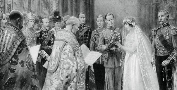 April 1923: Duke Of York And Lady Elizabeth Bowes Lyon