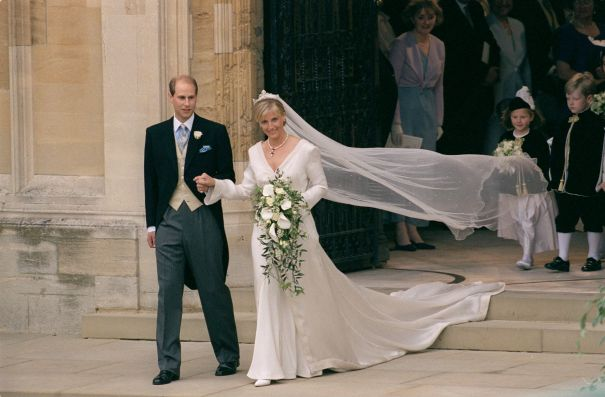 June 1999: Prince Edward And Sophie Rhys-Jones