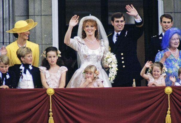July 1986: Prince Andrew And Sarah Ferguson