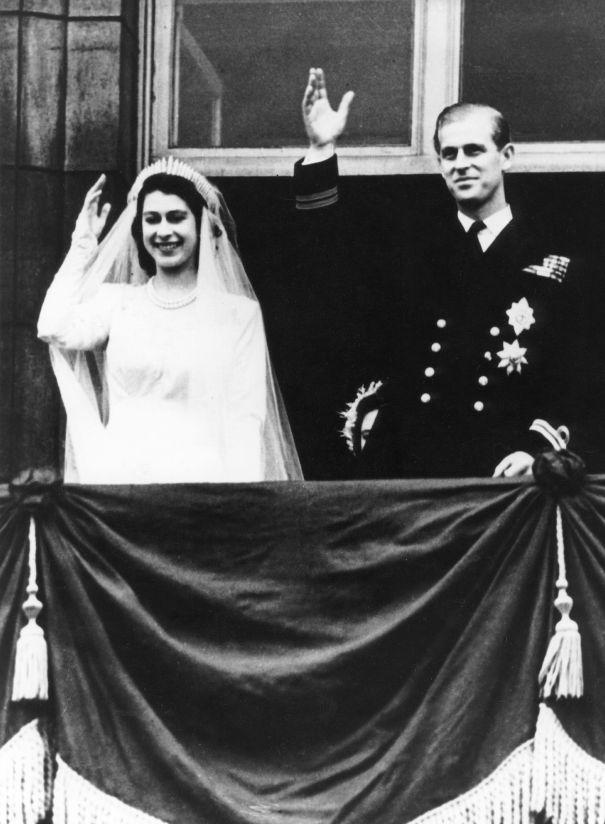 November 1947: Queen Elizabeth II And The Duke Of Edinburgh