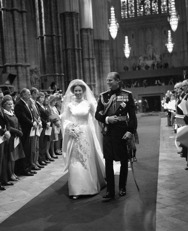 November 1973: Princess Anne And Captain Mark Phillips