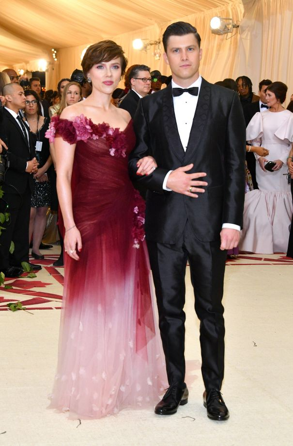 Scarlett Johansson + Colin Jost