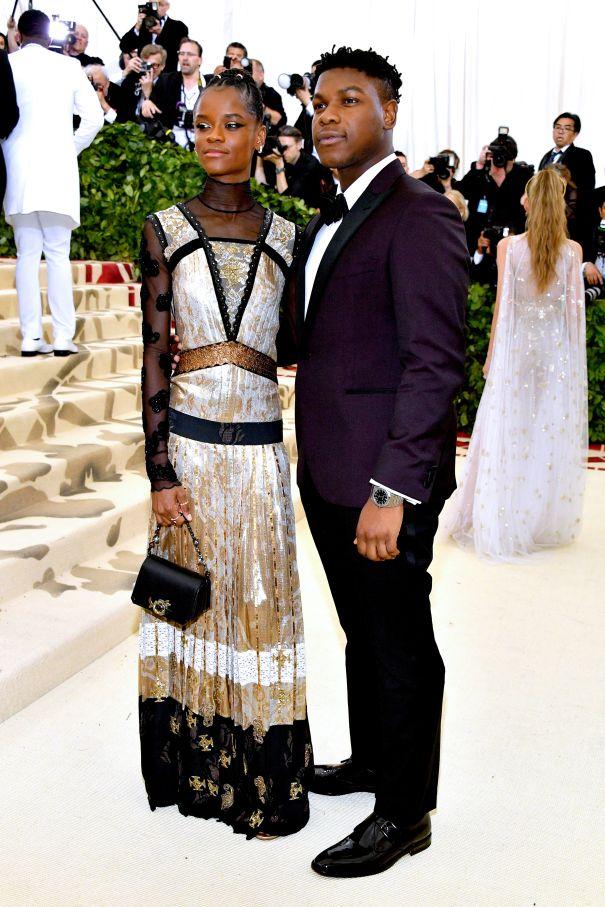 Letitia Wright + John Boyega