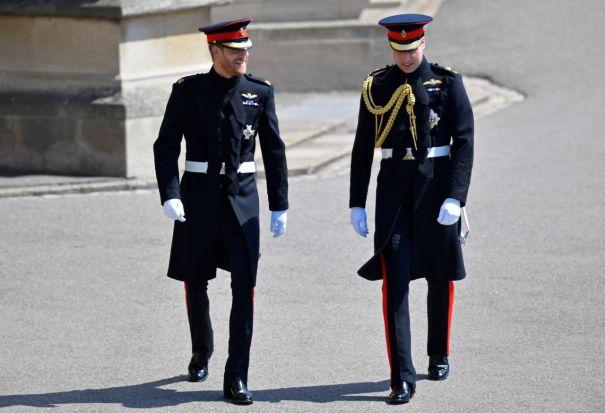 Prince Harry, Prince William Arrive