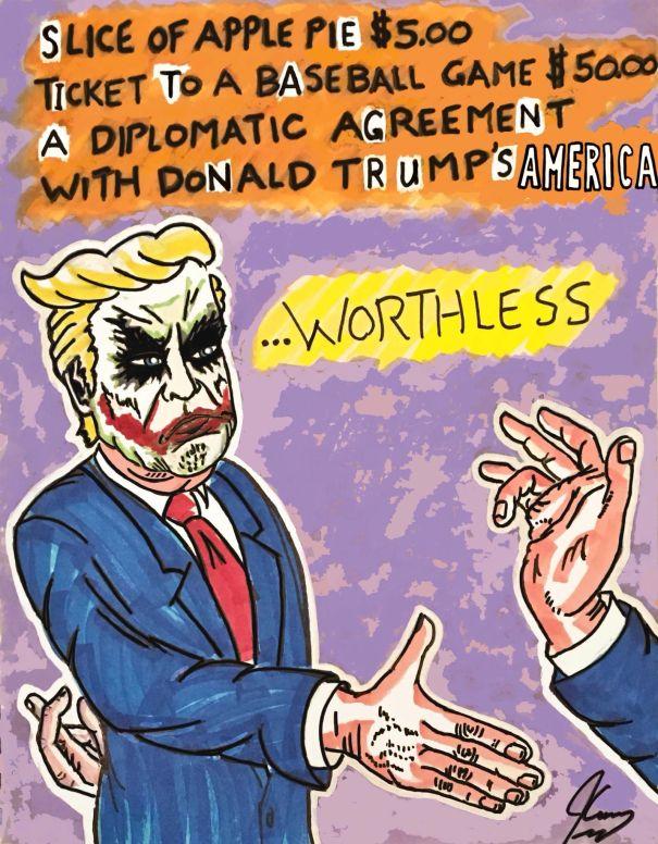 Trump As The Joker