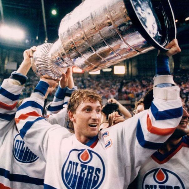 How Big Was Gretzky In 1988?