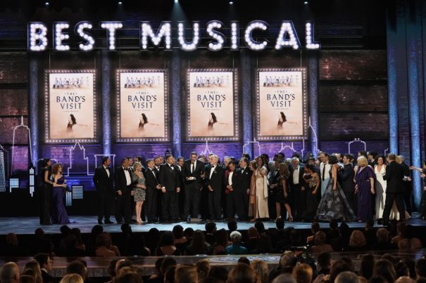 'The Band's Visit' Takes Best Musical