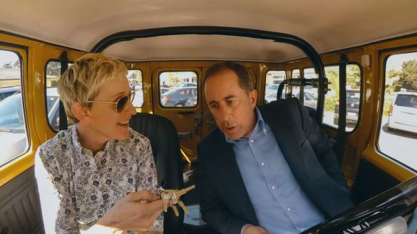 'Comedians in Cars Getting Coffee' - season premiere
