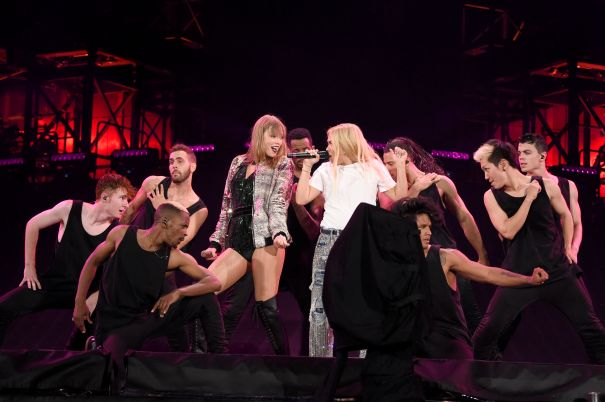 Taylor Swift And Hayley Kiyoko Hit The Stage