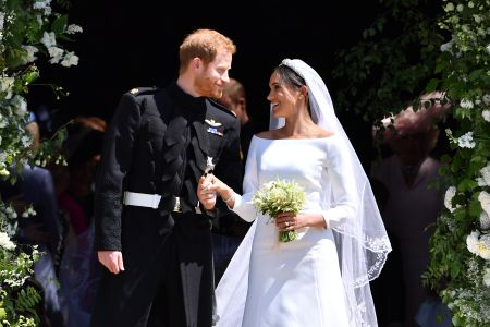 How Meghan Markle S Wedding Dresses Paid Tribute To Late Style