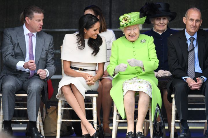 Meghan Markle stepped out for her first royal engagements with the Queen on Thursday