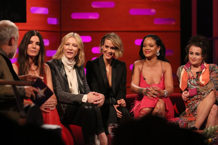 The cast of 'Ocean's 8' appeared on 'The Graham Norton Show'