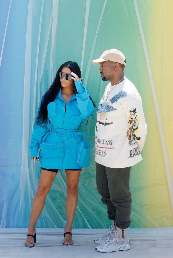 Kim Kardashian And Kanye West Take Paris