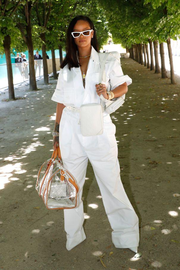 Rihanna In Summer White