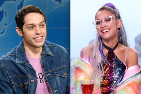 Pete Davidson Gives His Pendant Of Late Father S Fdny Badge To Ariana Grande Etcanada Com