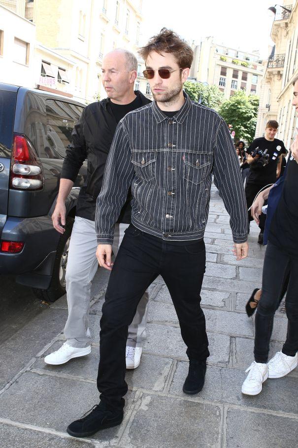Robert Pattinson At Dior