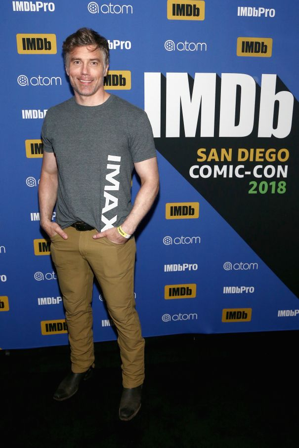 Anson Mount At #IMDboat Party At San Diego Comic-Con 2018, Sponsored By Atom Tickets