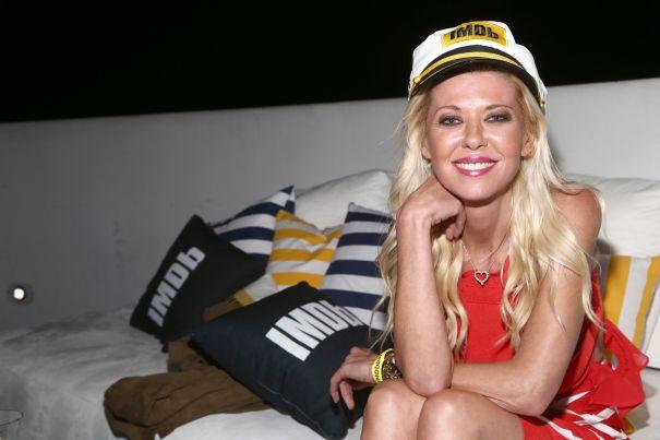 Tara Reid Aboard #IMDboat Party
