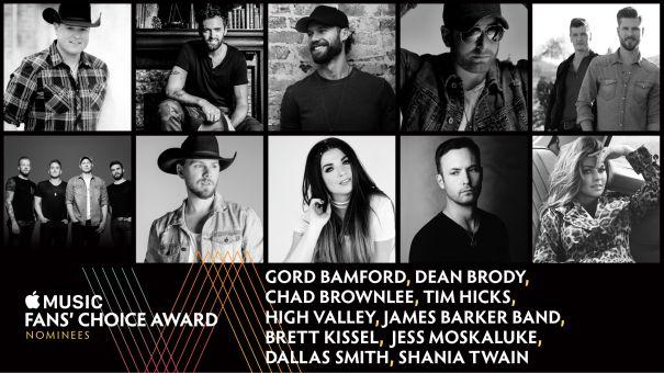 Apple Music Fan Choice Nominees