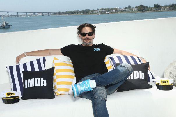 Joe Manganiello On IMDb Boat