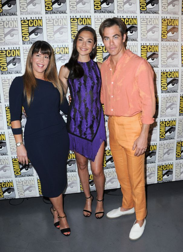 'Wonder Woman' Stars, Director