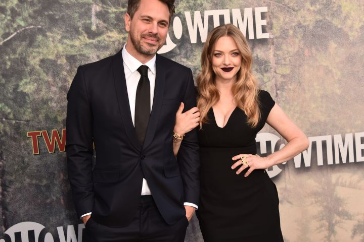 Amanda Seyfried with her husband Thomas Sadoski