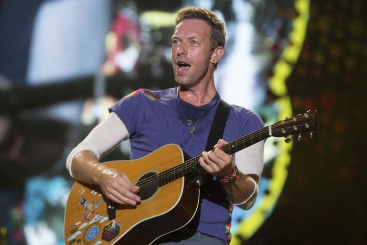 Coldplay slides into seventh place with $115.5 million this past year.