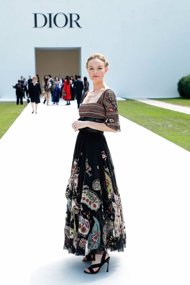 Kate Bosworth Goes Bold In Dior