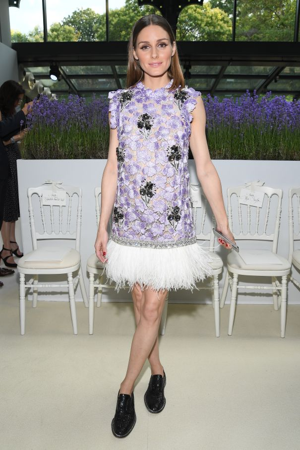 Olivia Palermo Is Lovely In Lilac