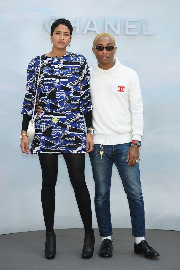 Pharrell Takes On Fashion Week