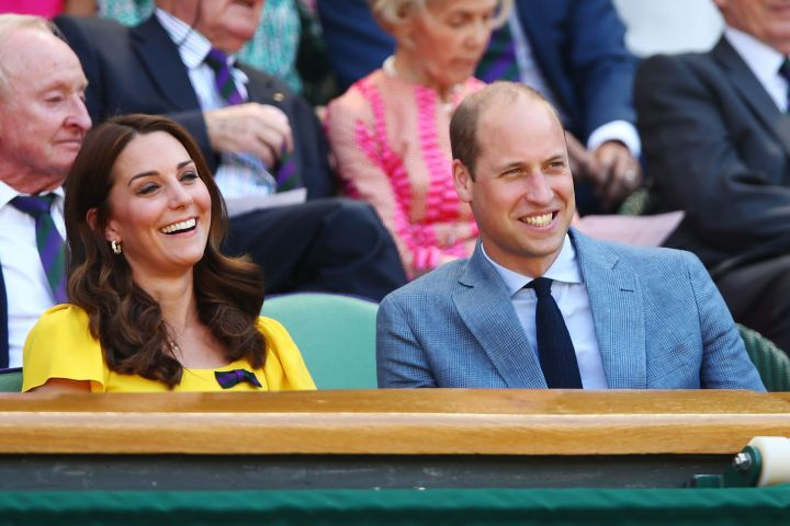 The Duke and Duchess of Cambridge attended Sunday's Wimbledon final