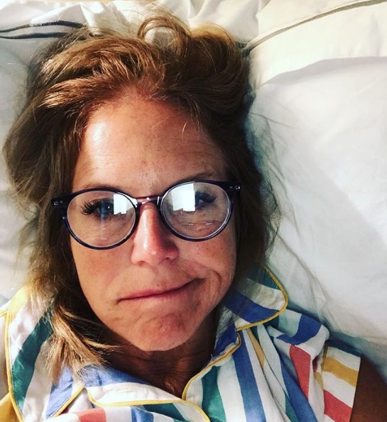 Katie Couric Shares Unfiltered Selfie From Bed