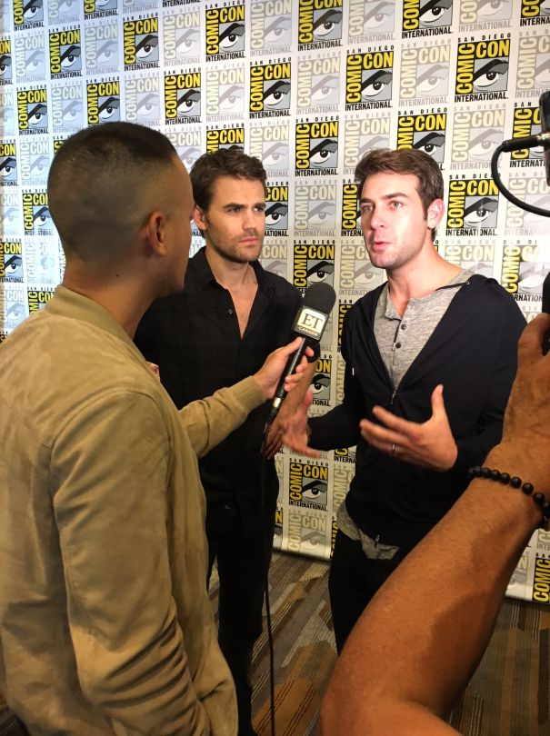 'Tell Me A Story' At Comic-Con