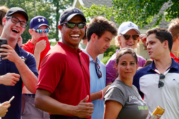 Tiger's Double Shows Up On Tour