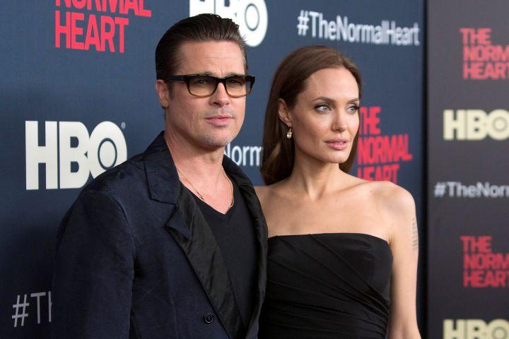 Brad Pitt and Angelina Jolie - Reuters