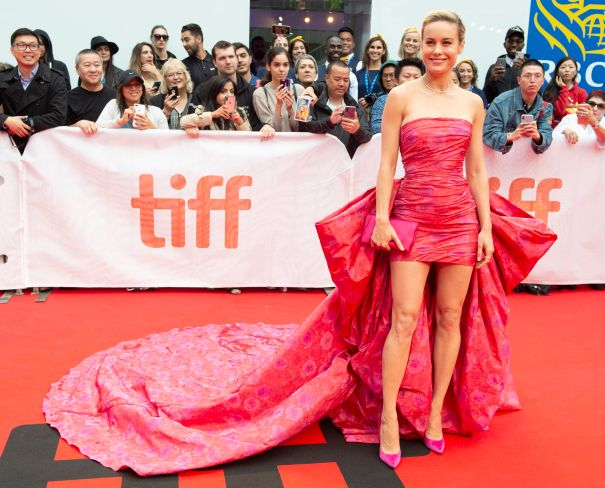 Brie Larson In Pink
