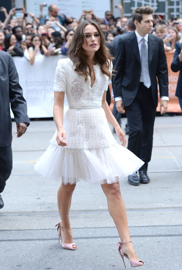Keira Knightley Brings Haute Couture To TIFF