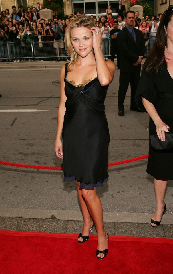 Reese Witherspoon Makes Her Mark In A Black Babydoll