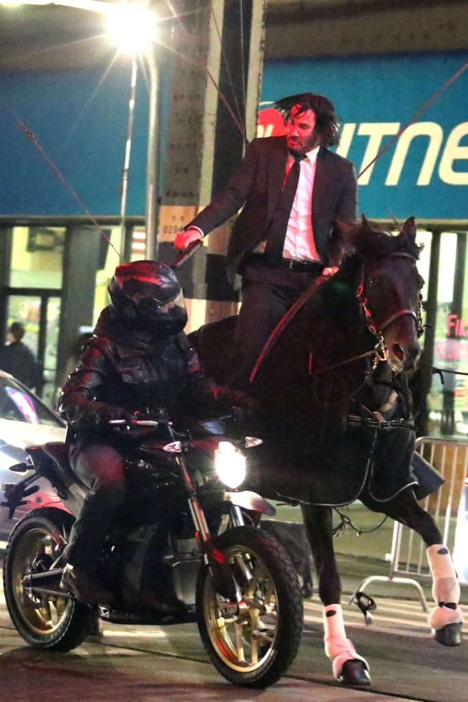 Keanu Reeves Video Gets Fans Excited For John Wick 3 After Horse Riding Meme Takes Twitter By Storm Etcanada Com