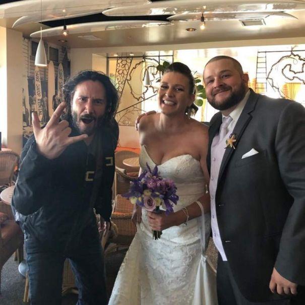 Keanu Reeves' Excellent Wedding Adventure