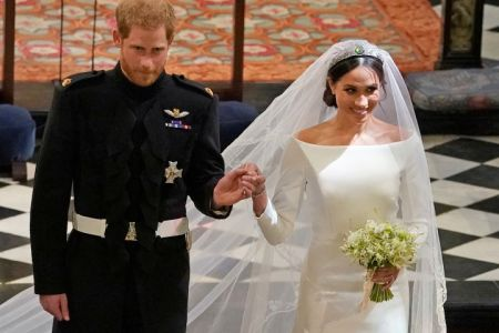 meghan markle s royal wedding dress to go up on display at exhibition etcanada com meghan markle s royal wedding dress to