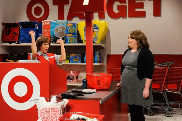 Target Lady Was Part Of Her 'SNL' Audition