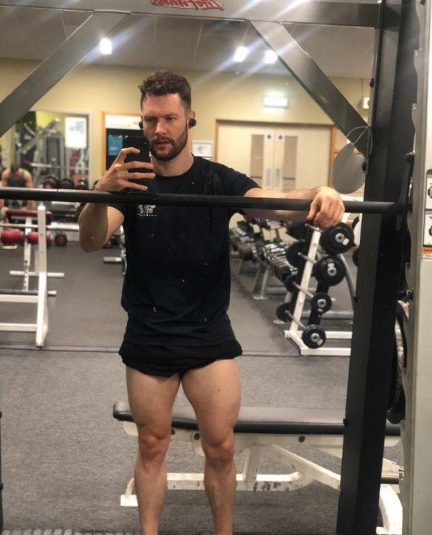 Leg Day For Calum Scott