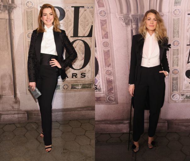 Blake Lively And Anne Hathaway Are Twinning