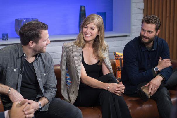 'A Private War' Cast Have A Laugh