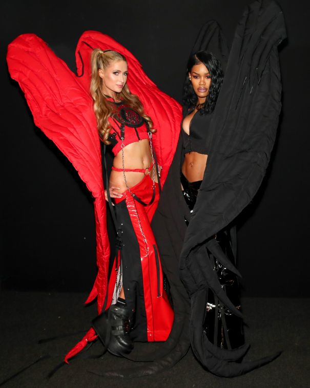 Backstage With Paris Hilton and Teyana Taylor