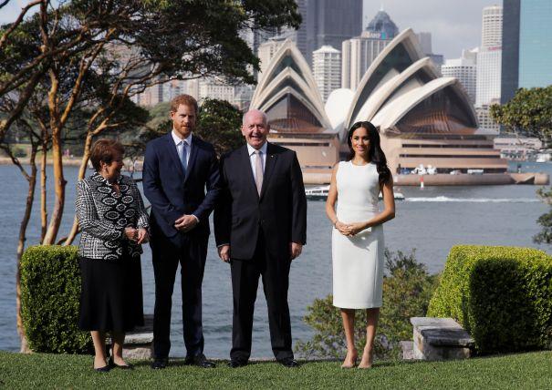 Meeting Australia's Governor