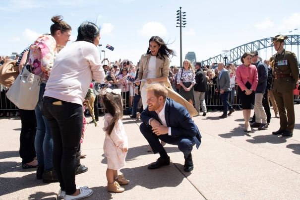 Prince Harry's Adorable Fan